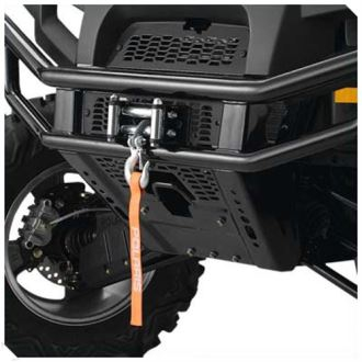 WINCH WARN RT-40 INTEGRATED 09