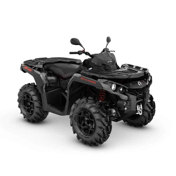 Outlander 650 PRO+ T -20 T3 Black & Red