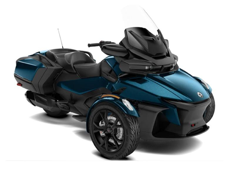 Spyder RT LTD -20 1330 ACE SE6 Petrol Blue Metallic (Dark)